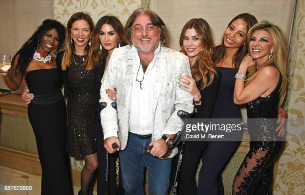 Sinitta Heather Kerzner Shadi Ritchie Robert Tchenguiz Jade Heathcliff Emma McQuiston Viscountess Weymouth and Lisa Tchenguiz attend Lisa Tchenguiz's...