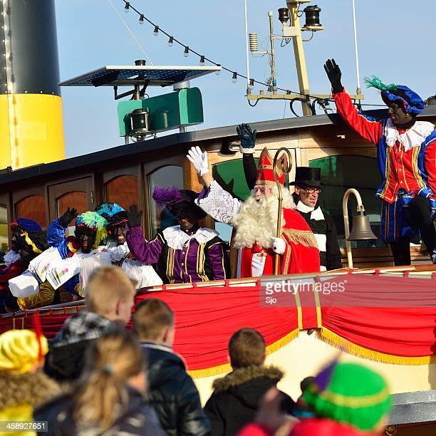 Sinterklaas Arriving