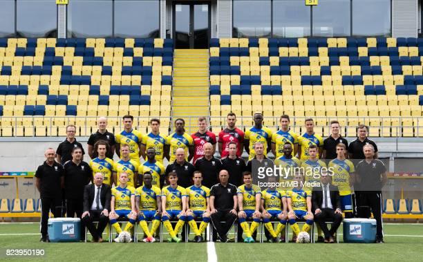 20170717 SintTruiden Belgium / Photoshoot Stvv 2017 2018 / 'n'nBack row Koen Pansaers Steven Bex Jorge Teixeira Fabien Antunes Jordan Botaka Marten...