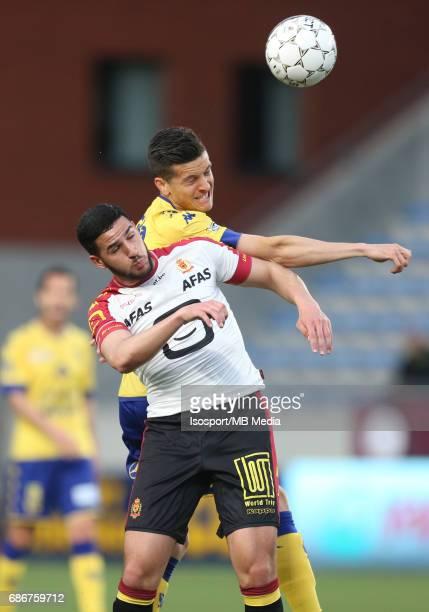 20170519 SintTruiden Belgium / Stvv v Kv Mechelen / 'nAhmed EL MESSAOUDI Stef PEETERS'nJupiler Pro League 2016 2017 PlayOff 2a Matchday 10 'nPicture...