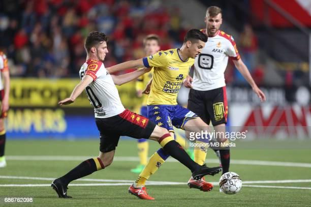 20170519 SintTruiden Belgium / Stvv v Kv Mechelen / 'nJordi VANLERBERGHE Stef PEETERS'nJupiler Pro League 2016 2017 PlayOff 2a Matchday 10 'nPicture...