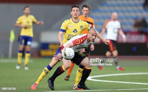 20170519 SintTruiden Belgium / Stvv v Kv Mechelen / 'nStef PEETERS Yohan CROIZET'nJupiler Pro League 2016 2017 PlayOff 2a Matchday 10 'nPicture by...
