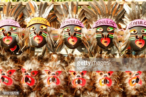 Sinulog Masks