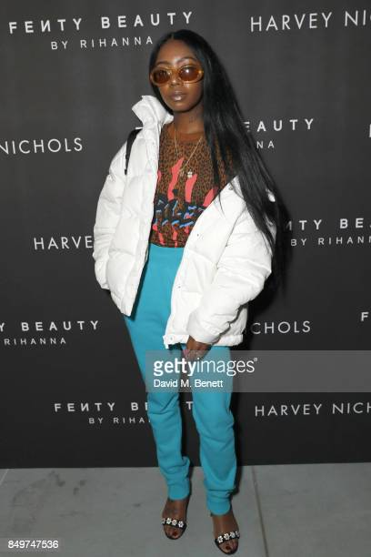 Siobhan Bell attends the Fenty Beauty x Harvey Nichols Launch at Harvey Nichols on September 19 2017 in London England