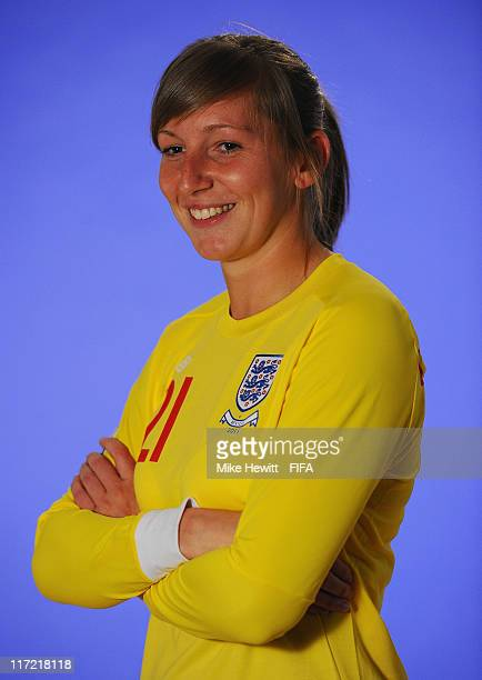 Siobhan Chamberlain of England during the FIFA portrait session on June 24 2011 in Wolfsburg Germany
