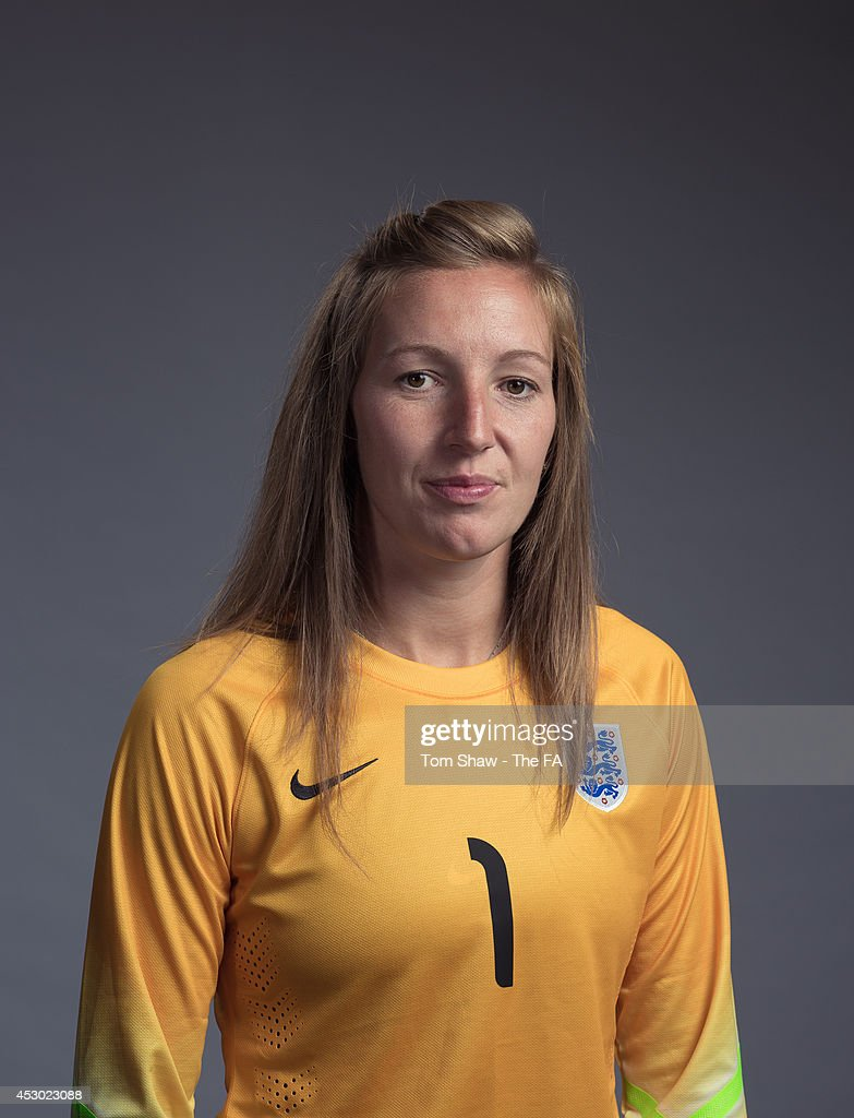 Siobhan Chamberlain of England poses for a portrait at St Georges Park on July 31 2014 in BurtonuponTrent England
