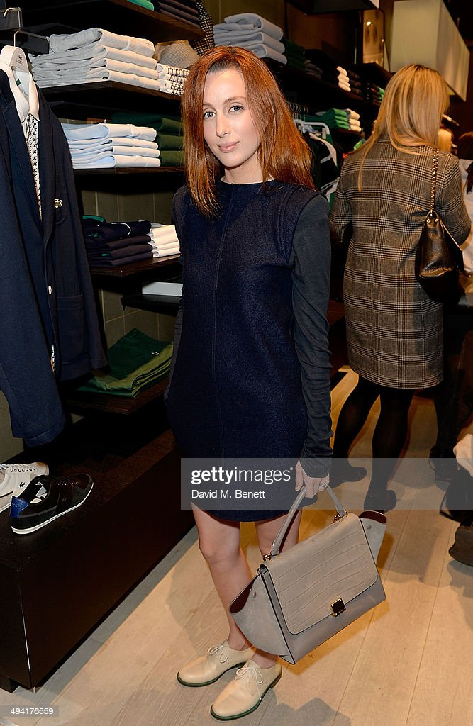 Siobhan Donaghy attends the Lacoste Store Reopening on May 28, 2014 in London, England.