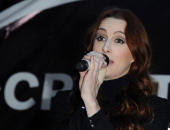 Siobhan Donaghy of the Original Sugababes Mutya Keisha Siobhan officially switched on Victoria's lights and launch the 90ft outdoor #CreateChristmas...