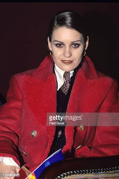 Siobhan Fahey during Siobhan Fahet at World AIDS day at London in London Great Britain