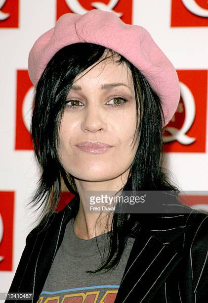 Siobhan Fahey during The 2004 Q Awards Arrivals at Dorchester Hotel in London Great Britain