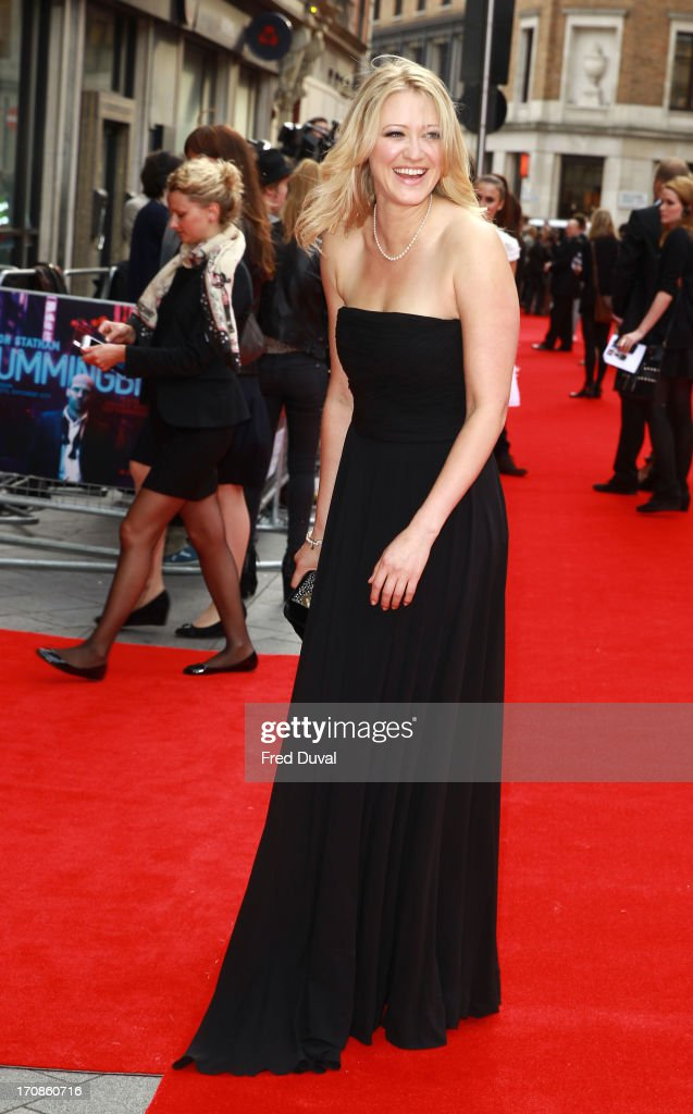 Siobhan Hewlett attends the UK Premiere of 'Hummingbird' at Odeon West End on June 17 2013 in London England