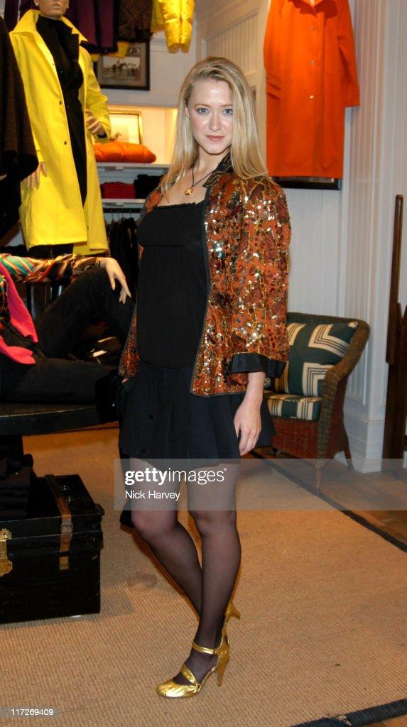 Siobahn Hewlett Visits The Ralph Lauren Store