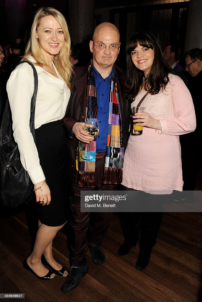 Siobhan Hewlett Terry Johnson and Alice Bailey Johnson attend an after party celebrating the press night performance of 'The Duck House' at The...