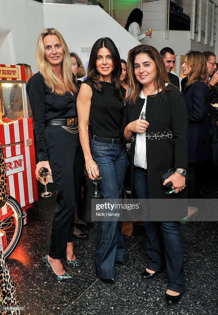 Siobhan Loughran, guest and Maryam Eisler attend the book launch of Art Studio America at ICA on November 11, 2013 in London, England.