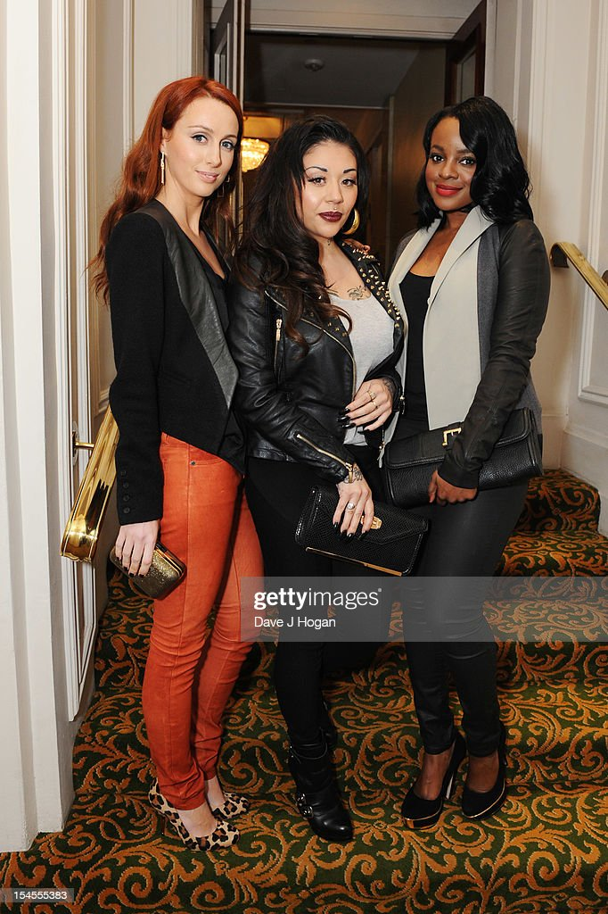 Siobhßn Donaghy, <a gi-track='captionPersonalityLinkClicked' href=/galleries/search?phrase=Mutya+Buena&family=editorial&specificpeople=206601 ng-click='$event.stopPropagation()'>Mutya Buena</a> and <a gi-track='captionPersonalityLinkClicked' href=/galleries/search?phrase=Keisha+Buchanan&family=editorial&specificpeople=204610 ng-click='$event.stopPropagation()'>Keisha Buchanan</a> of Sugababes attend the Q Awards 2012 at The Grosvenor House Hotel on October 22, 2012 in London, England.