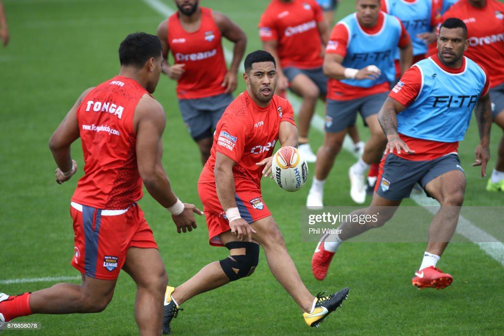Tonga Training Session