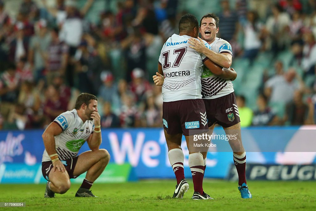 NRL Rd 4 - Roosters v Sea Eagles