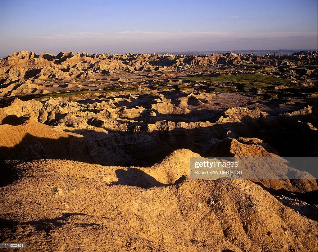 Sioux Lakota in Rosebud Reservation In United States In April 2003The 'badlands' sacred territory of Sioux Lakota