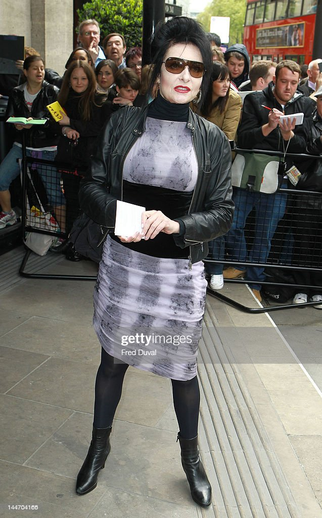 Siouxie Sioux attends the 2012 Ivor Novello Awards at Grosvenor House, on May 17, 2012 in London, England.
