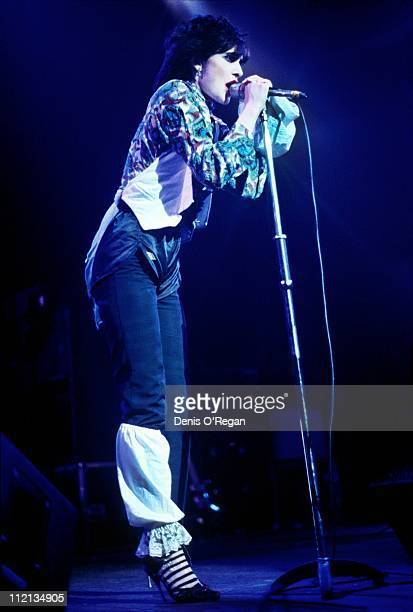 Siouxsie and The Banshees in concert at Hammersmith Odeon London 9th November 1978
