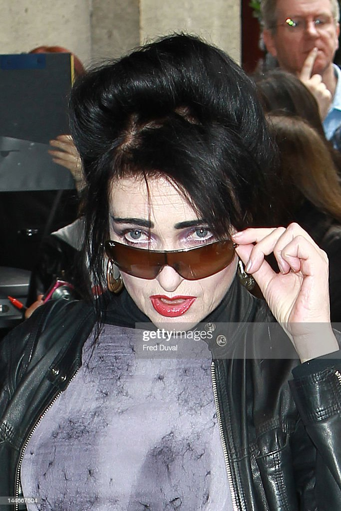 Siouxsie Sioux attends the Ivor Novello awards that honours songwriters, composers and music publishers at Grosvenor House, on May 17, 2012 in London, England.