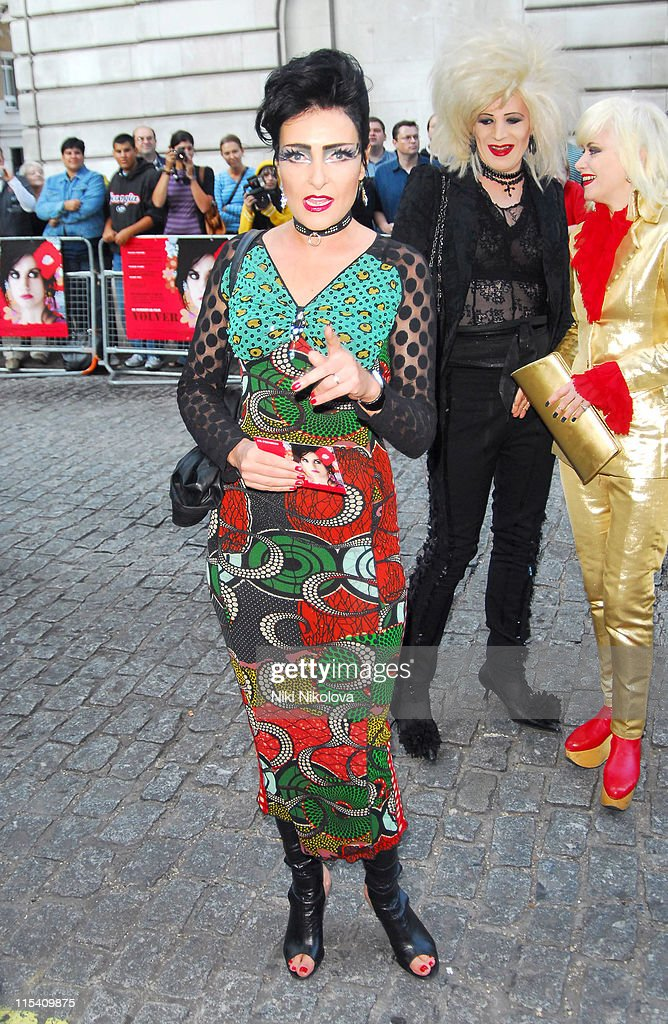 <a gi-track='captionPersonalityLinkClicked' href=/galleries/search?phrase=Siouxsie+Sioux&family=editorial&specificpeople=714537 ng-click='$event.stopPropagation()'>Siouxsie Sioux</a> during 'Volver' London Premiere - Outside Arrivals at Curzon Mayfair in London, Great Britain.