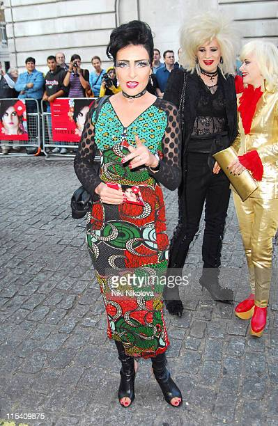 Siouxsie Sioux during 'Volver' London Premiere Outside Arrivals at Curzon Mayfair in London Great Britain
