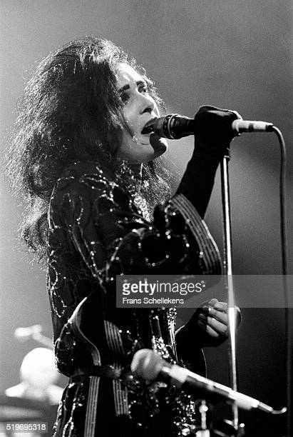 Siouxsie Sioux vocal performs with the Banshees on October 29th 1991 at Vredenburg in Utrecht Netherlands