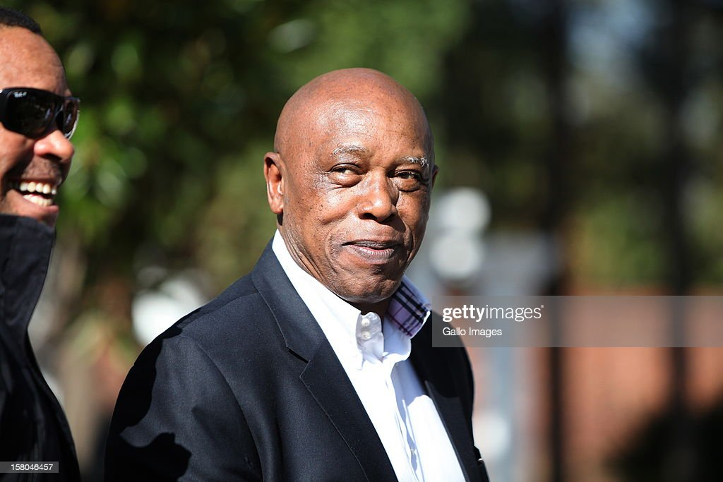 Siphiwe Nyanda and Tokyo Sexwale at the ANC NEC meeting in Centurion, South Africa on May 15, 2012.