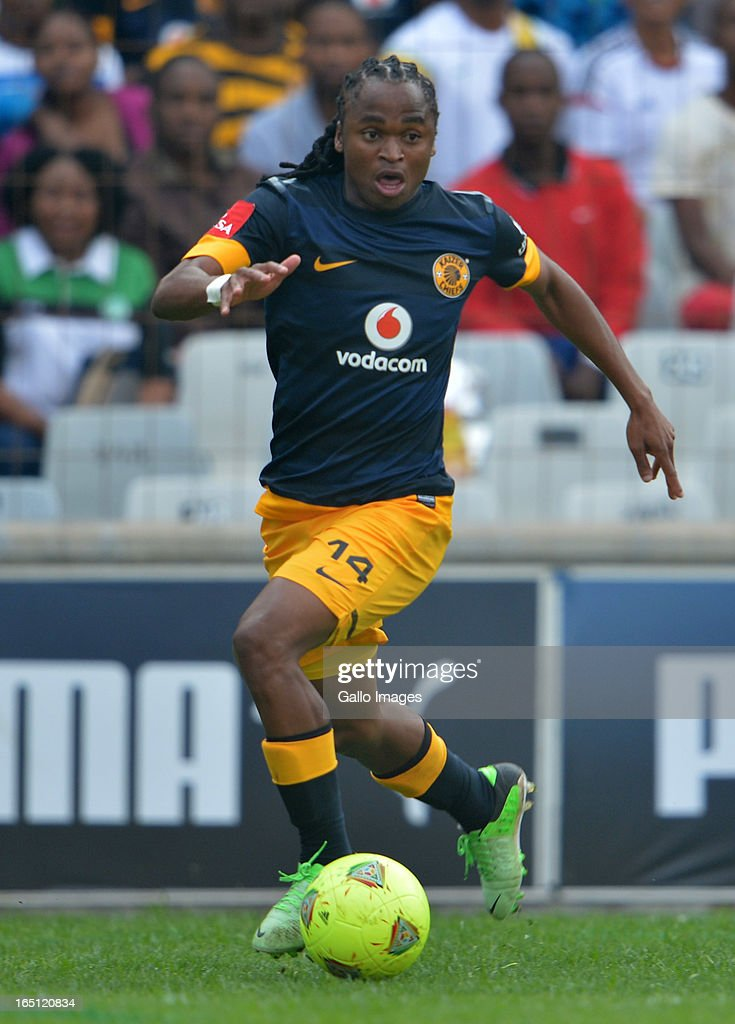 Siphiwe Tshabalala during the Absa Premiership match between Bloemfontein Celtic and Kaizer Chiefs at FNB Stadium on March 31, 2013 in Johannesburg, South Africa.