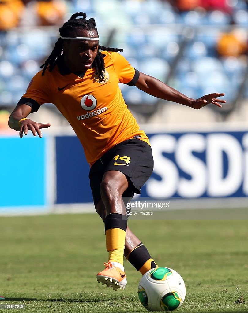 Siphiwe Tshabalala of Kaizer Chiefs during the Absa Premiership match between AmaZulu and Kaizer Chiefs at Moses Mabida Stadium on December 22, 2013 in Durban, South Africa.