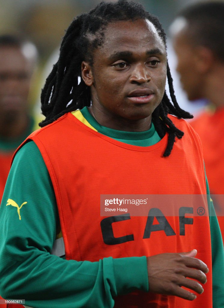 Siphiwe Tshabalala of South Africa during the 2013 African Cup of Nations Quarter-Final match between South Africa and Mali at Moses Mahbida Stadium on February 2, 2013 in Durban, South Africa.