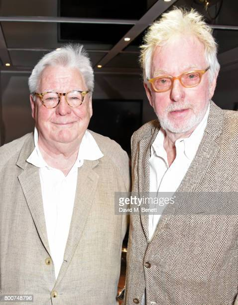 Sir Alan Parker and Hugh Hudson attend the BFI Southbank's tribute to Sir John Hurt on June 25 2017 in London England