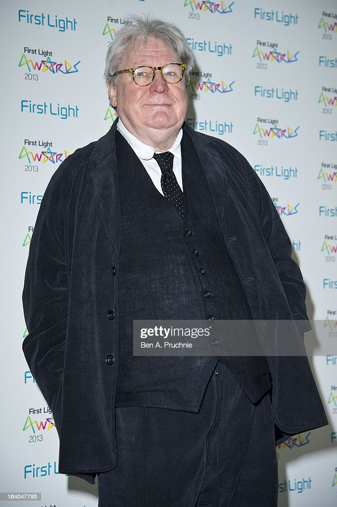 Sir Alan Parker attends the First Light Awards at Odeon Leicester Square on March 19, 2013 in London, England.