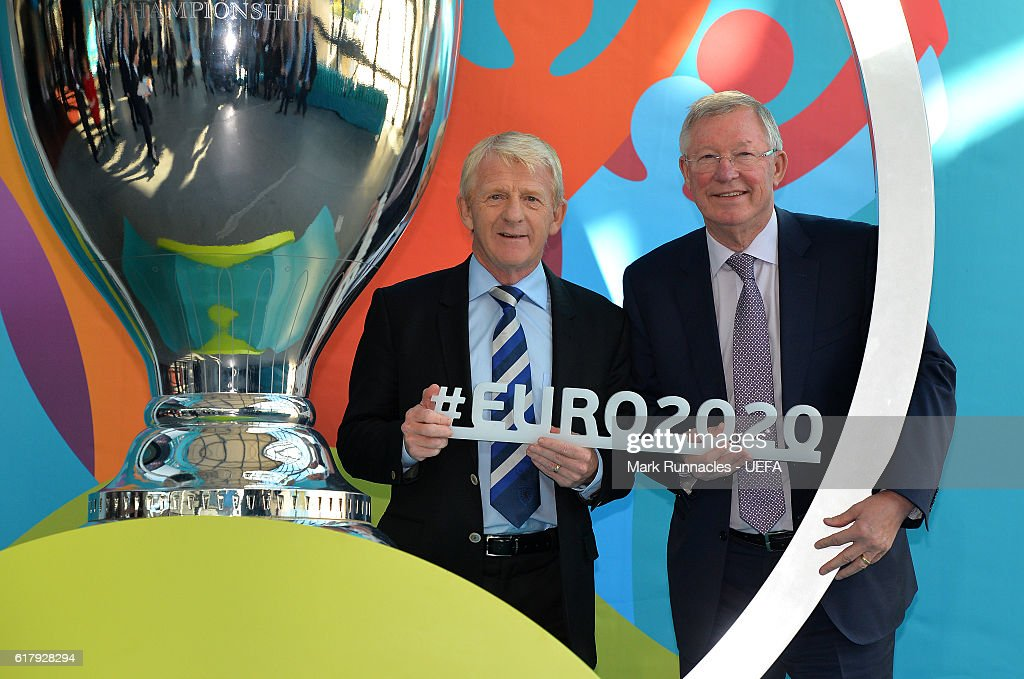Glasgow UEFA EURO 2020 Host City Logo Launch Event : News Photo