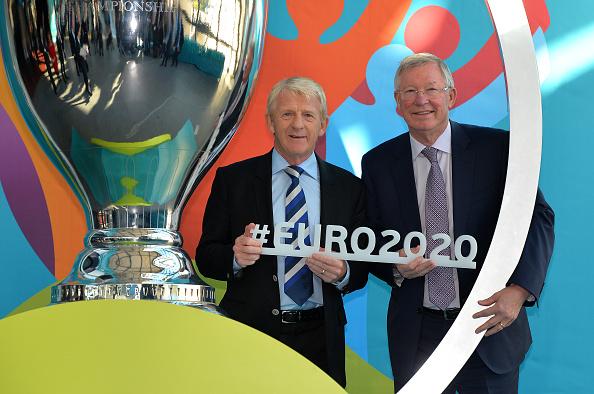 Glasgow UEFA EURO 2020 Host City Logo Launch Event : News Photo