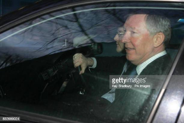 Sir Alex Ferguson attended a hearing at Manchester High Court today after a hearing into a wrong diagnosis claim for Footballer Michael Appleton