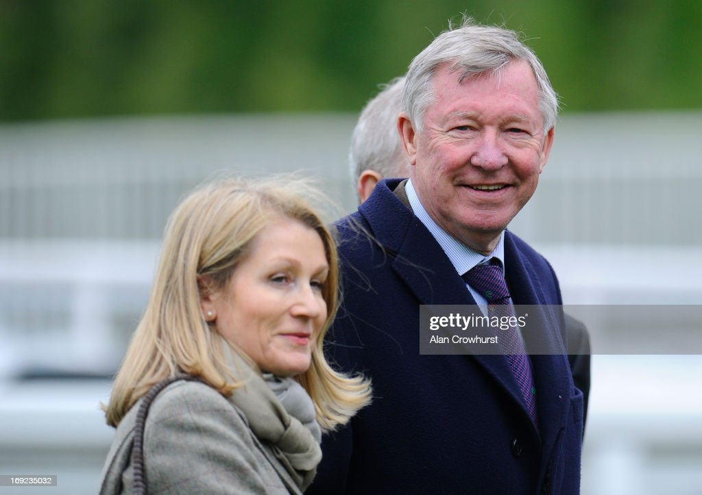 Sir <a gi-track='captionPersonalityLinkClicked' href=/galleries/search?phrase=Alex+Ferguson&family=editorial&specificpeople=203067 ng-click='$event.stopPropagation()'>Alex Ferguson</a> is seen at Lingfield racecourse on May 22, 2013 in Lingfield, England.