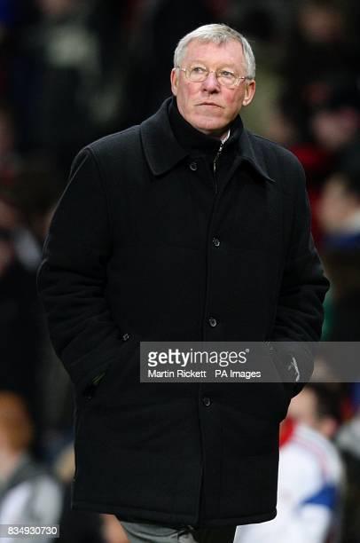 Sir Alex Ferguson Manchester United manager