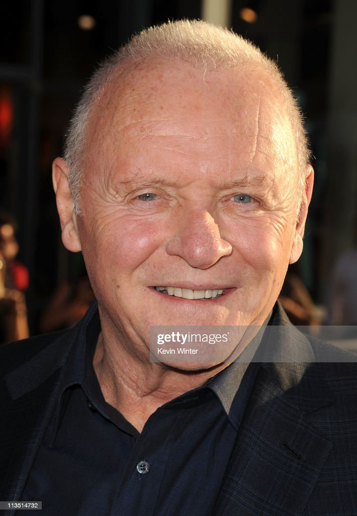 Sir Anthony Hopkins arrives at the premiere of Paramount Pictures' and Marvel's 'Thor' held at the El Capitan Theatre on May 2, 2011 in Los Angeles, California.
