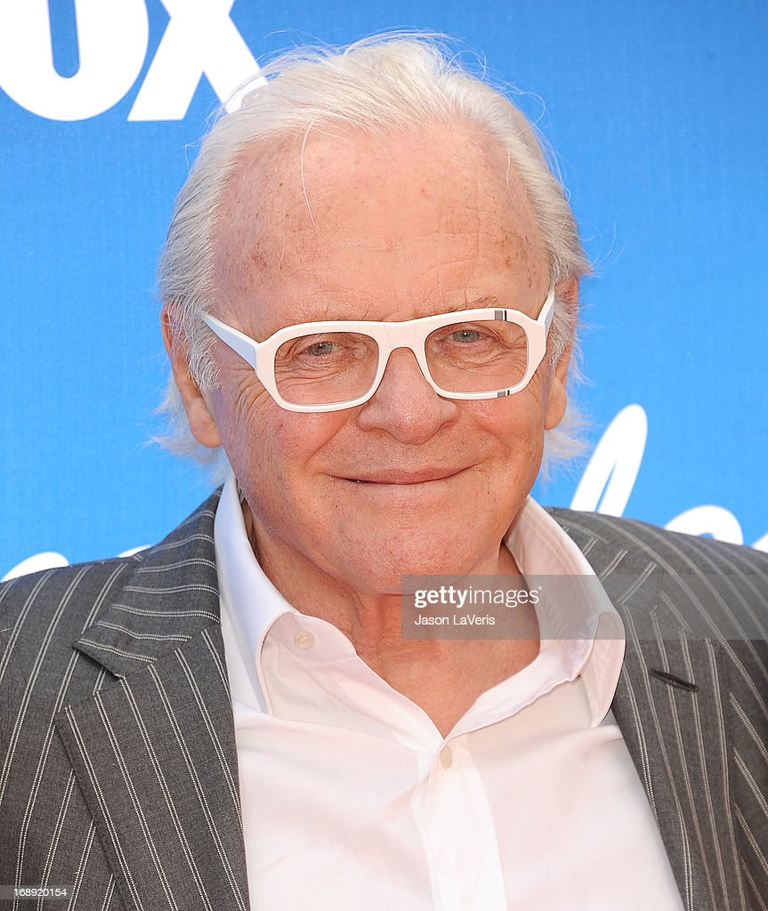 Sir Anthony Hopkins attends the American Idol 2013 finale at Nokia Theatre L.A. Live on May 16, 2013 in Los Angeles, California.
