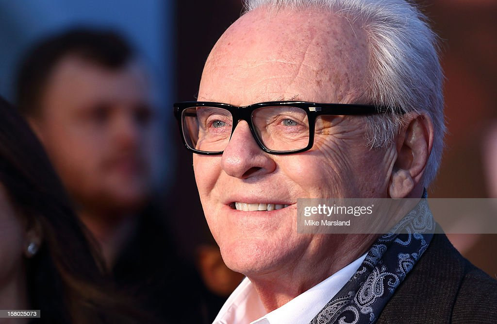 Sir Anthony Hopkins attends the UK Premiere of Hitchcock at BFI Southbank on December 9 2012 in London England