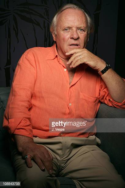 Sir Anthony Hopkins during 2005 Toronto Film Festival 'The World's Fastest Indian' Portraits at HP Portrait Studio in Toronto Canada
