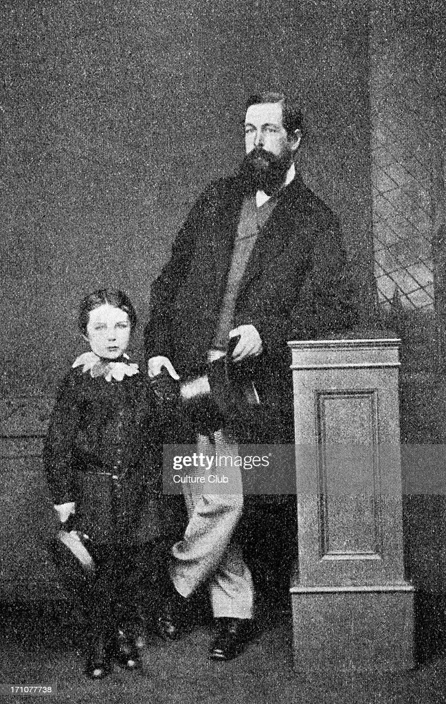 Sir <a gi-track='captionPersonalityLinkClicked' href=/galleries/search?phrase=Arthur+Conan+Doyle&family=editorial&specificpeople=203200 ng-click='$event.stopPropagation()'>Arthur Conan Doyle</a> photographed in May 1865 , age 6, with his father Charles Doyle. Scottish author and creator of Sherlock Holmes. Scottish author and crime writer 22 May 1859–7 July 1930