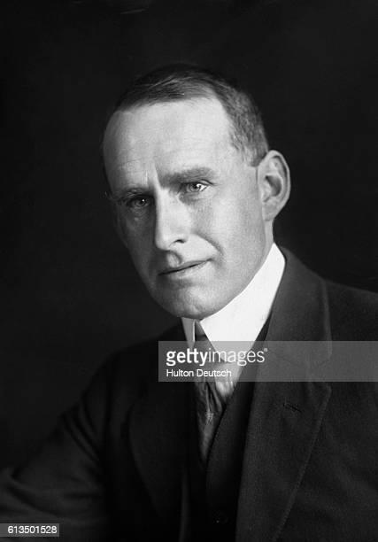 Sir Arthur Stanley Eddington the English astronomer whose work has done much to establish Albert Einstein's theory of relativity