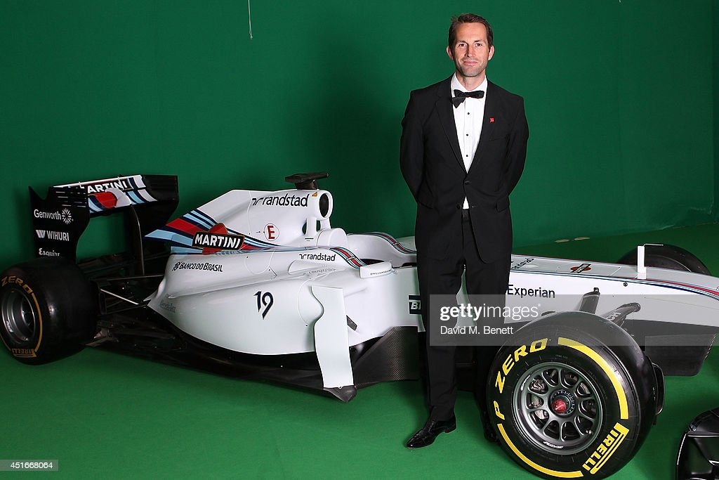 Sir <a gi-track='captionPersonalityLinkClicked' href=/galleries/search?phrase=Ben+Ainslie&family=editorial&specificpeople=208865 ng-click='$event.stopPropagation()'>Ben Ainslie</a> attends The Grand Prix Ball at the Royal Artillery Gardens on July 3, 2014 in London, England.