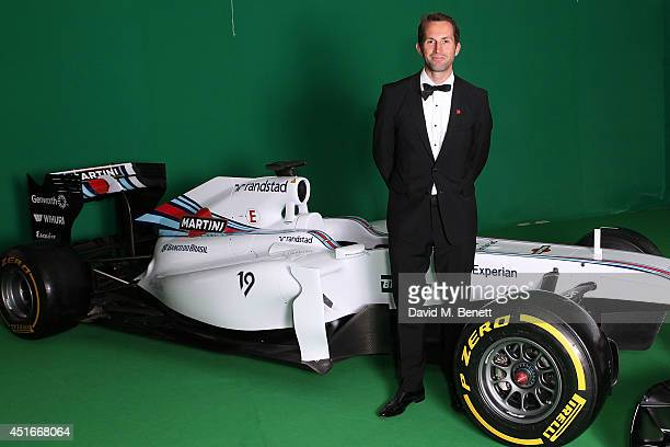 Sir Ben Ainslie attends The Grand Prix Ball at the Royal Artillery Gardens on July 3 2014 in London England