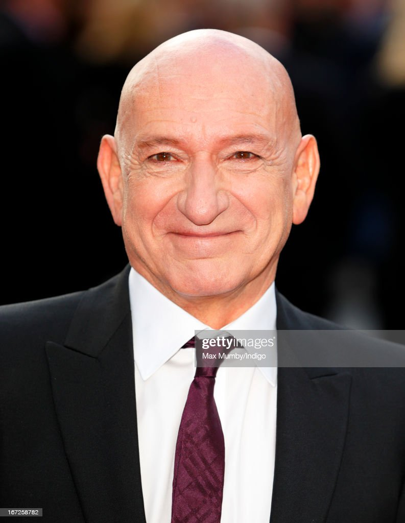 Sir Ben Kingsley attends a special screening of 'Iron Man 3' at Odeon Leicester Square on April 18, 2013 in London, England.