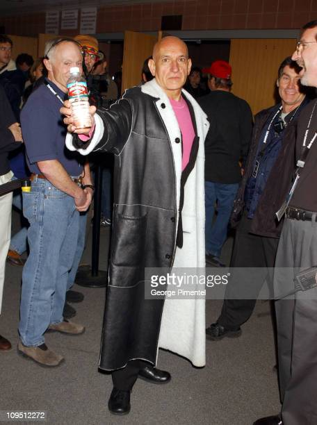 Sir Ben Kingsley during 2002 Sundance Film Festival 'Hysterical Blindness' Premiere at Eccles Center For The Performing Arts in Park City Utah United...