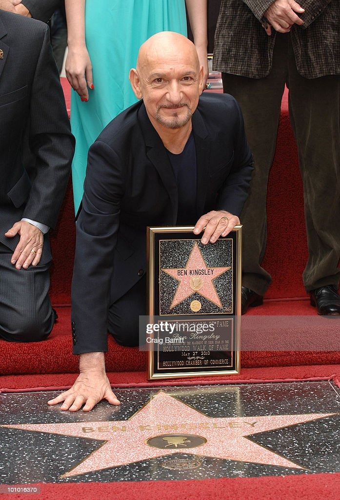 Sir Ben Kingsley honored with star on the Hollywood Walk Of Fame on May 27, 2010 in Hollywood, California.